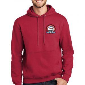 PGFPD tall essential Fleece pullover hooded sweatshirt