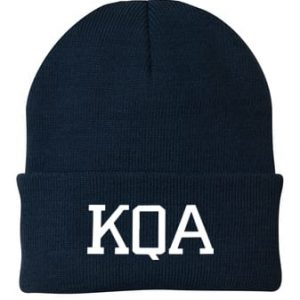 KQA Navy Cuffed Knit Cap