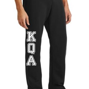 KQA Adult Black Sweatpants