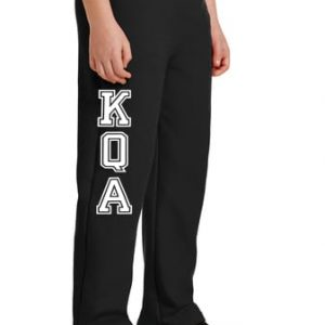 KQA Youth Black Sweatpants