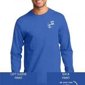 Grace Community Church Ladies Retreat Royal Blue Long Sleeve Cotton T-shirt