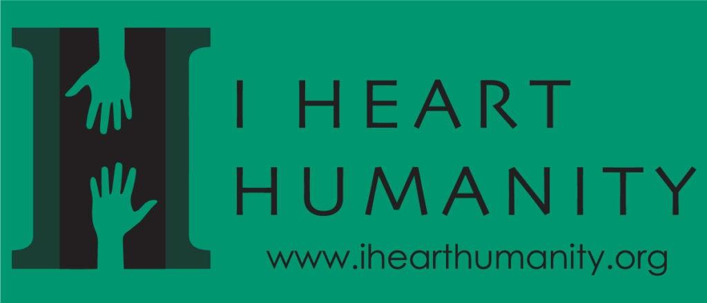 I Heart Humanity Logo Green
