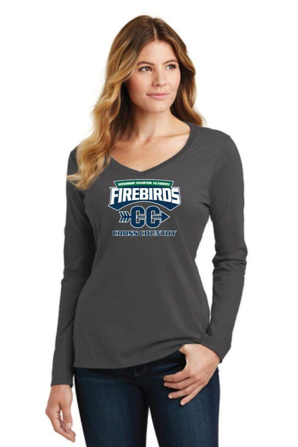 WCA Cross Country Ladies Fan Favorite Long Sleeve T-shirt