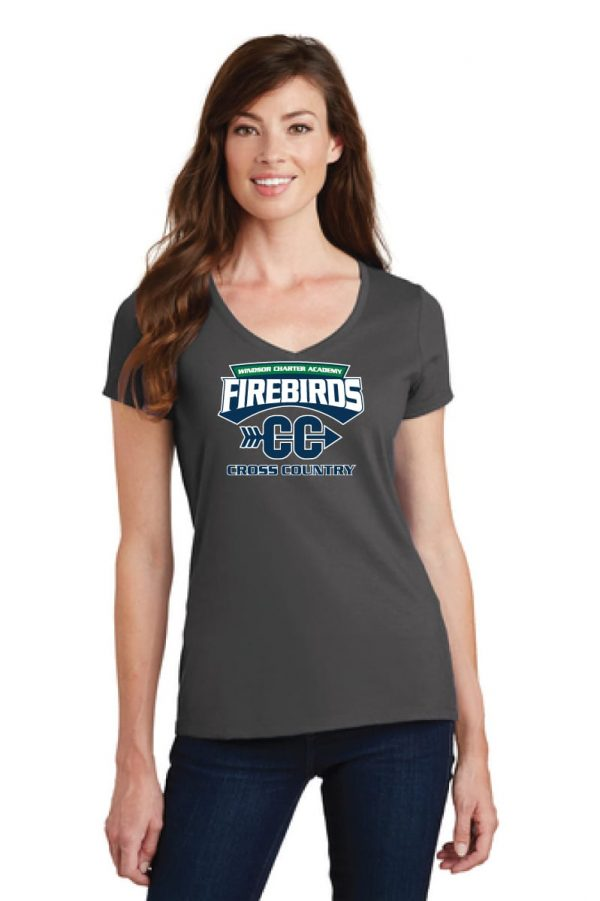 WCA Cross Country Ladies Fan Favorite V-Neck T-Shirt