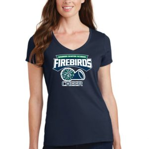 WCA Cheer Ladies Fan Favorite V-Neck T-Shirt