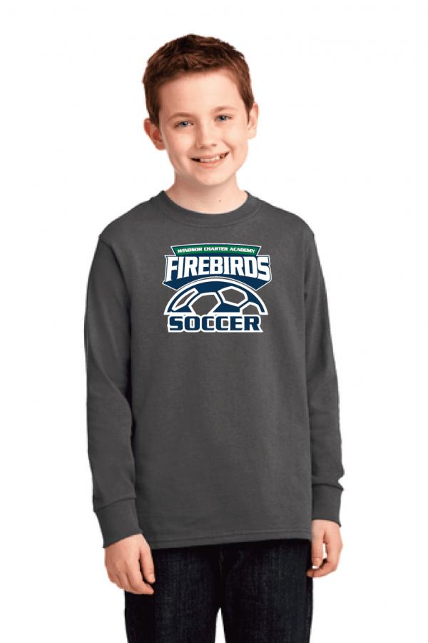 WCA Soccer Youth Long Sleeve T-Shirt