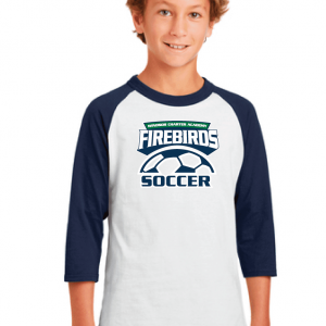 WCA Soccer Youth Colorblock Raglan Jersey