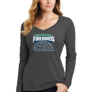 WCA Ladies Fan Favorite Long Sleeve V-Neck T-shirt