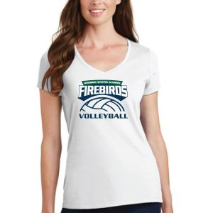 WCA Volleyball Ladies Fan Favorite V-Neck T-Shirt
