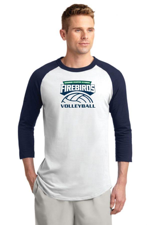 WCA Volleyball Colorblock Raglan Jersey