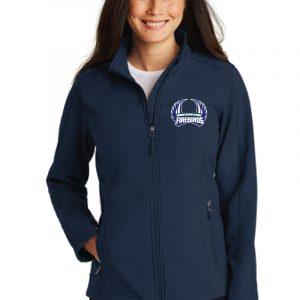 WCA Ladies Soft Shell Full Zip Jacket