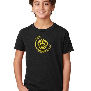 Tozer/Mountain View Elementary School Youth Black Short Sleeve Cotton T-shirt