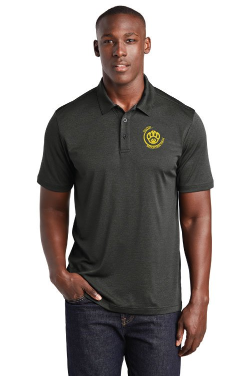 Tozer/Mountain View Elementary School Adult Black Endeavor Polo