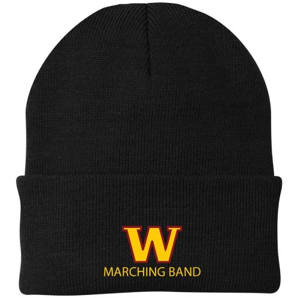 WHS Marching Band Cuff Knit Cap