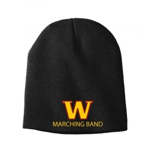 WHS Marching Band Skull Cap