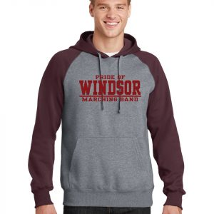 WHS Marching Band Color Block Hoodie ST267