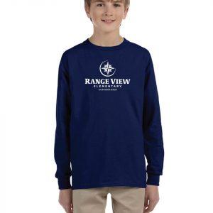 Range View Gildan Youth Long Sleeve T-Shirt