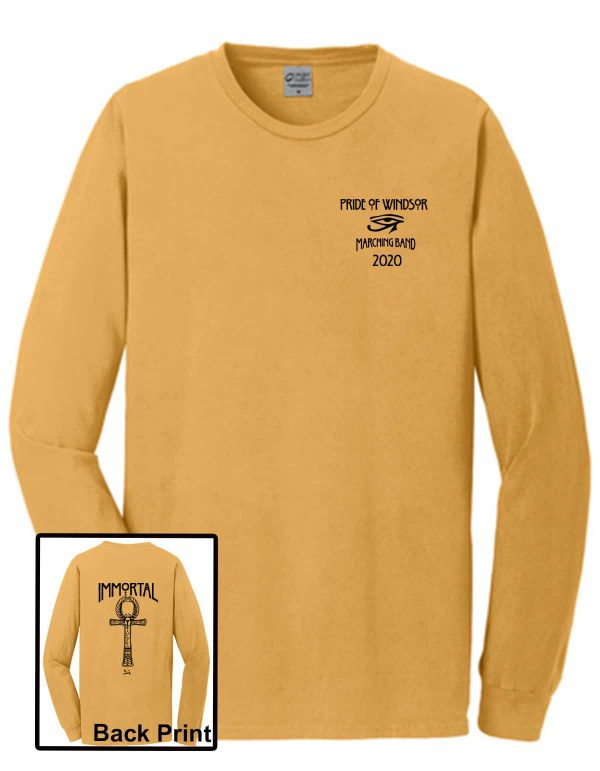 WHS Marching Band Long Sleeve Show Shirt