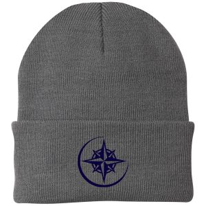 Range View Elementary School Grey Cuffed Beanie