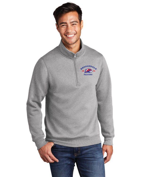 Briggsdale High School Adult 1/4 Zip Jacket