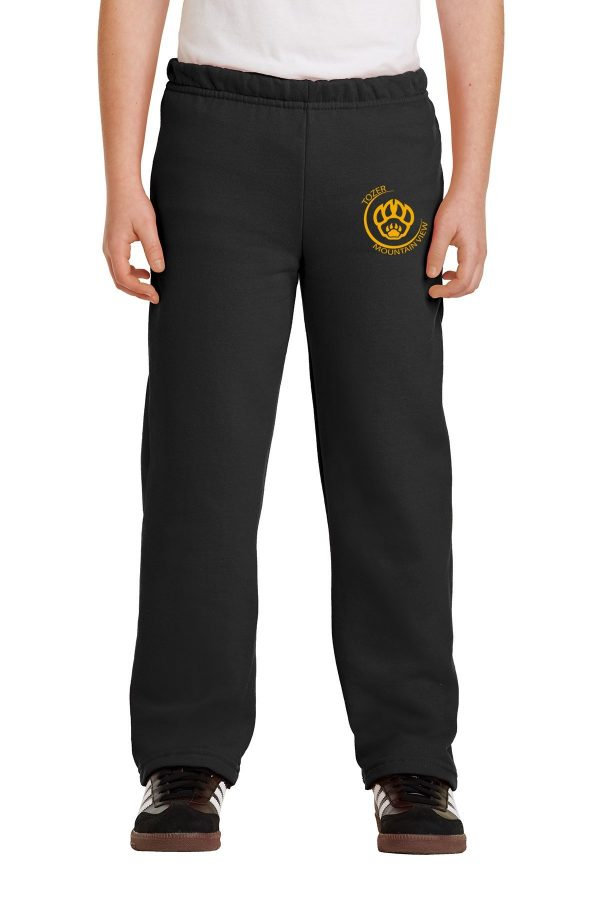 Tozer Mountain View Elementary Youth Black Sweatpants