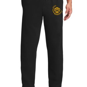 Tozer Mountain View Elementary Adult Black Sweatpants