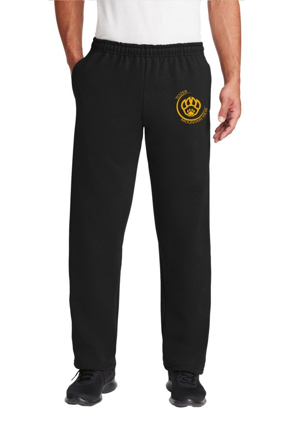 Tozer Mountain View Elementary Adult Black Sweatpants