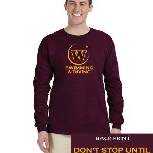 WHS Girls Adult Long Sleeve Cotton T-shirt