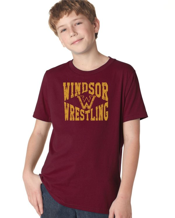 WMS Wrestling Youth Short Sleeve Cotton