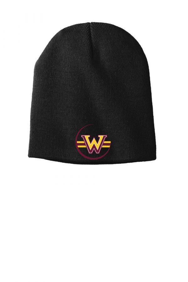 WMS Wrestling Knit Skull Cap Beaniekull Cap Beanie