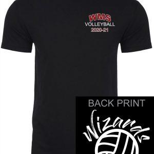 WMS Volleyball Adult Next Level Short Sleeve T-Shirt