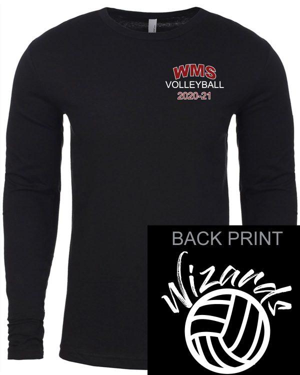 WMS Volleyball Adult Next Level Long Sleeve T-Shirt