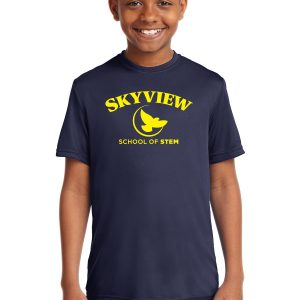 Skyview Youth Performance t-shirt